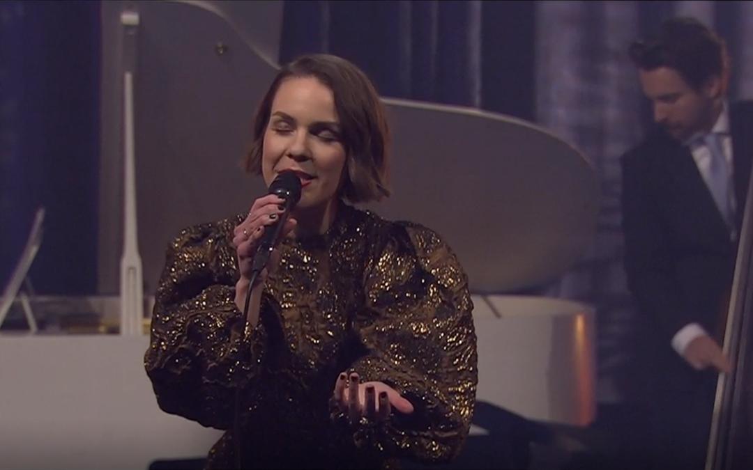 Isabella Lundgren med egen stråkkvartett i Go kväll